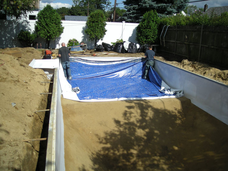 New Liner Installation