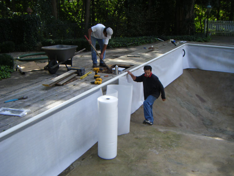Wall Foam Installtion